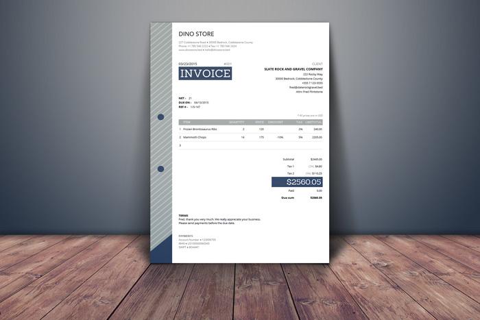 Generic Invoice Template
